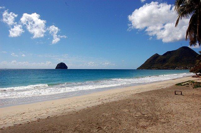 Les plages paradisiaques de la Martinique